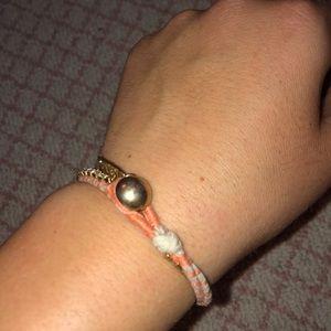 J. Crew Jewelry - Jcrew orange diamond bracelet